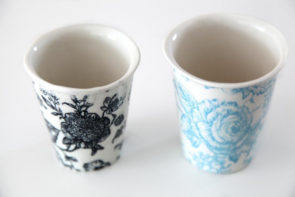 Samantha Robinson porcelain cups