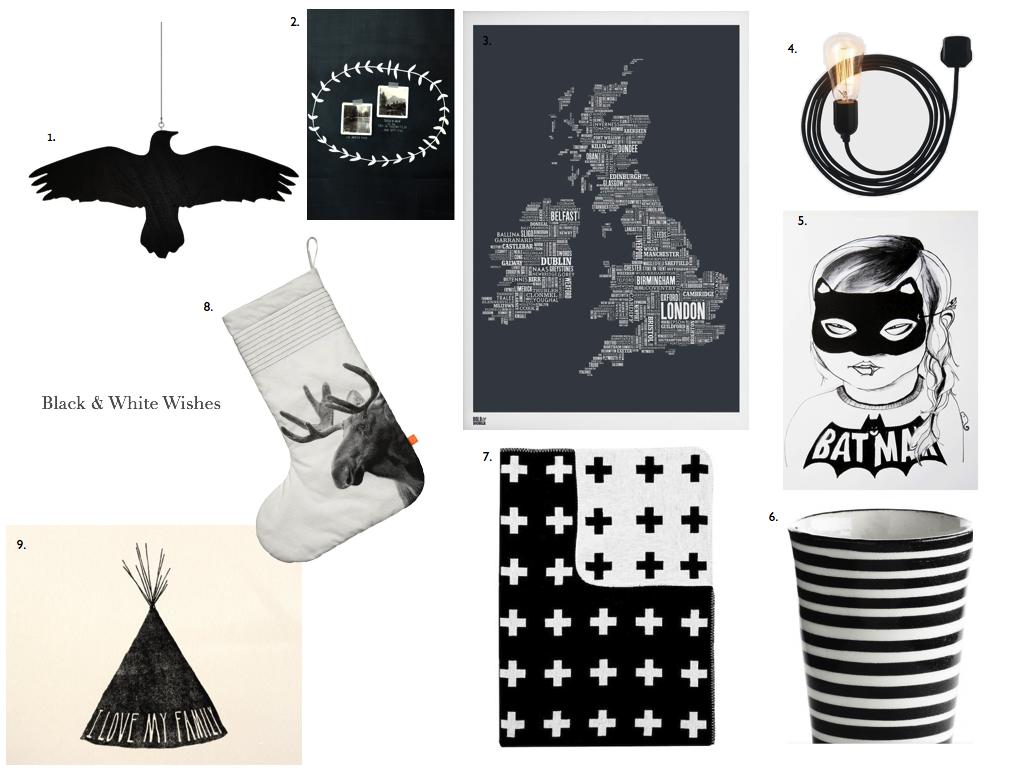 Black & White Wishes