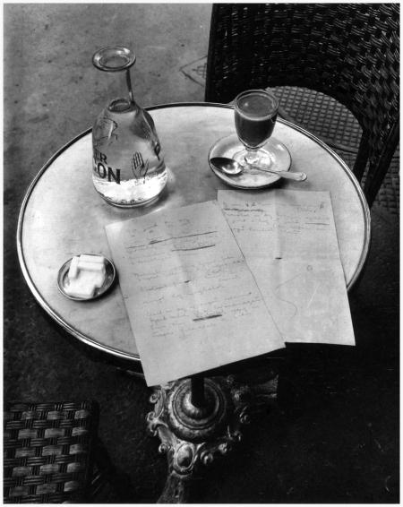 Andre Kertesz, Paris 1927